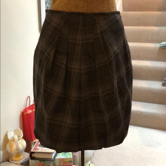 gunex Dresses & Skirts - Plaid wool skirt
